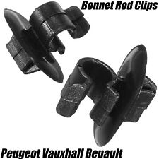 2x Clips For Renault Traffic Citroen Peugeot Bonnet Support Strut Rod Holder