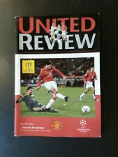 Manchester United Programme Retro Van Nisterlrooy