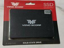 """VENO SCORP 2.5"""" SATA III Unidad De Estado Sólido SSD interno portátil, PC 128,256GB"""