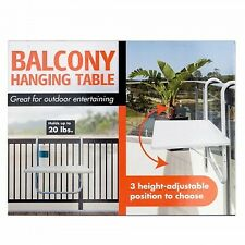 All-Purpose Balcony Hanging Table