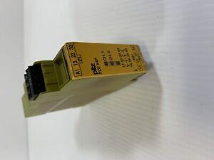 Pilz PZE X4P Safety Relay