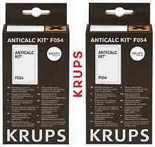 Lot 2 KRUPS F054 KIT contient deux DETARTRANT + BATONNET TESTEUR anticalcaire