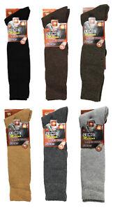 Unisex Men Ladies Merino Wool Long Socks, Outdoor Walking Boot Socks, UK 6-11