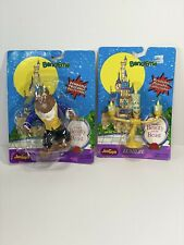 Vintage Bend Ems Bendable Disney Beauty and the Beast Lumiere, Beast JusToys