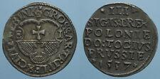 POLONIA RARO 3 GROSZE 1537 SIGISMONDO I SPL
