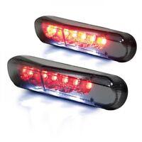 Mini LED Rücklicht Heckleuchte Universal smoked Kennzeichenbeleuchtung Motorrad