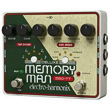 Electro-Harmonix Deluxe Memory Man Tap Tempo 550-TT Analog Delay Pedal