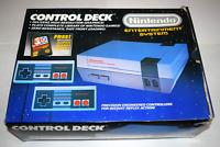 Nintendo NES Control Deck Super Mario Bros 1986 Console System Complete in Box