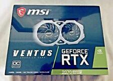 MSI RTX 2070 Super Ventus - 8GB GDDR6 - OC Edition - Graphics Card - GPU NVIDIA