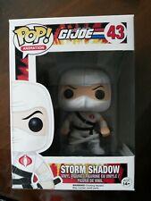 Funko Pop - G.I. Joe - Set of 2 - Snake Eyes #42 & Storm Shadow #43