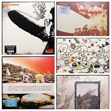 Led Zeppelin Lot I II III IV + Houses of the Holy Latest Pressings Vinyl Records