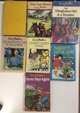 ENID BLYTON set 7 Hardcover books - 1960's - 90's Secret Seven Mystery