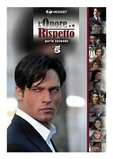 L'ONORE E IL RISPETTO (TV) Movie POSTER 11x17 Italian Gabriel Garko Virna Lisi