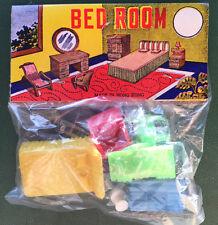ANNI 50 COLORI VIVACI colorato giocattolo miniatura camera da letto mobili set