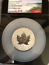4-silver Canada PF70 Maple Leaf Reverse Proofs