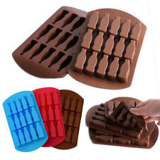 Silicone Cola Milk Bottles Chocolate Mould Candy Ice Cube Tray Jelly Icing Mold