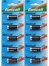 10 x EUNICELL LR1/MN9100/E90 1.5v TYPE N ALKALINE BATTERIES