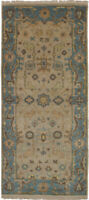 """Hand-knotted  Carpet 2'9"""" x 6'1"""" Royal Ushak Traditional Wool Rug"""