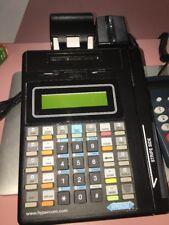 Hypercom T7P-F Credit Card Terminal w/ Wlt-2408-1 Power Supply With Keypad