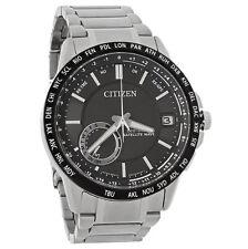 New Citizen Men's Satellite Wave Eco-Drive Watch CC3005-85E