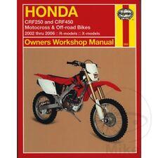 Honda CRF 450 X 2006 Haynes Service Repair Manual 2630