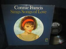 "Connie Francis ""Sings Songs of Love""L P"