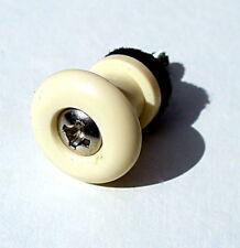Cinghia per Chitarra Color Crema pin fine Cinturino Pin Pulsante UK consegna gratuita classe 1st