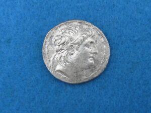 SCARCE Antiochos VII Tetradrachm 138 - 129 B.C.  !!!!NiceScarce coin!!!