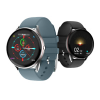 Smartwatch Bluetooth Uhr Rundes HD Display 5ATM IP67 Android Samsung iOS iPhone