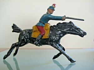 Soldier Old Lead Hollow Officer Spahis Gallops 1930 Original Jf 1933/35