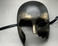 Halloween Black Gold Half Face Ball Prom Costume Masquerade Men's Mask