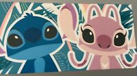 "Disney Store Stitch and Angel 59"" x 29"" Beach Bath Towel NEW With Tags"