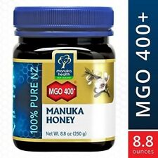 Manuka Health MGO 400 + Manuka Honey 100% Pure New Zealand Honey 8.8 oz IHI