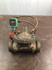 "CLA-VAL Solenoid Control Valve Cat #1-1/2"" 136-01A 1 1/2"" NPT WITH ASCO RED HAT"