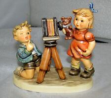 Goebel Hummel Figurine 2132 Camera Ready 25 Year Celebration Club Piece Mib Coa