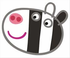 Zoe Zèbre de Peppa Pig Officiel Amusant CARTE Simple Fête Masque Visage