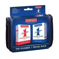Waddingtons Number 1 Bridge Card Deck Game Folio Travel Pack