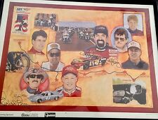 Kyle Petty Charity Ride Across America 24x32 Autograph Signed By Richard Petty