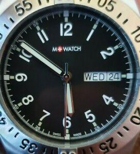 M-WATCH by Mondaine SWISS Herrenuhr Aqua Steel