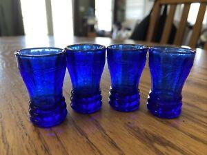 Mosser Glass Cobalt Blue Jennifer Childrens Play Glasses