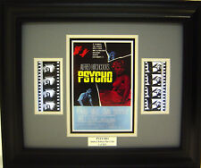 PSYCHO FRAMED FILM CELL ALFRED HITCHCOCK NEW
