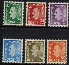 Noorwegen Norge postfris Mi 396 - 401 (N111)