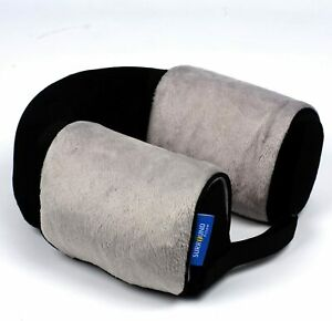 2 x Memory Foam Travel Pillows - Neck Cushion For Airplanes - NEW