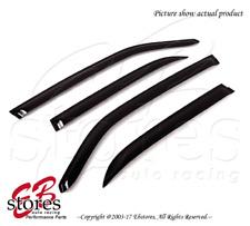 For Chevrolet Tahoe 2007-2014 Outside-Mounted Dark Smoke JDM Window Visors 4pcs