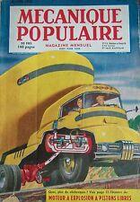 REVUE MECANIQUE POPULAIRE N° 053 PONTS SUSPENDUS LOCOMOTIVE DIESEL OHIO 1950