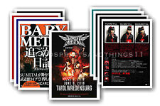 BABYMETAL - 10 promotional posters  collectable postcard set # 2