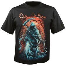 Children of Bodom-Grim Reaper T-shirt (dimensioni/Size M, Nero/Black) NUOVO