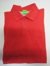 * POLO ROUGE -  M COURTES  --  T S  --  BOSS   -