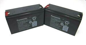 (Qty:2) Panasonic (PN: LC-P0612P),(6V, 12Ah/20HR) Replacement Battery(BRAND NEW)