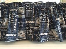 NEW NFL Dallas Cowboys Football Sports Valance Curtain